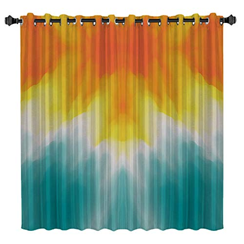 BedSweet Blackout Room Darkening Curtains, 52