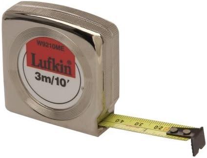 environ 3.05 m Lufkin 1//4 Pouces X 10 ft Format De Poche Bande