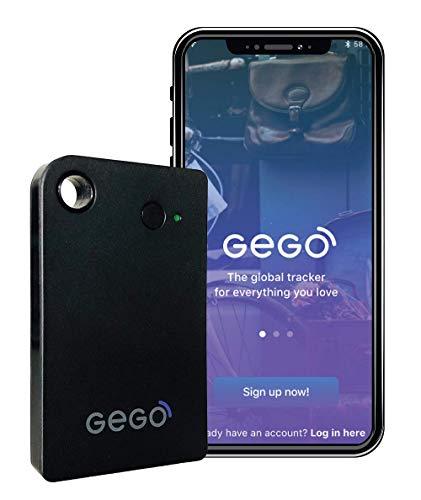 GEGO Luggage Car Kids Tracker - Worldwide, 3G, Bluetooth, App, Small - 30...