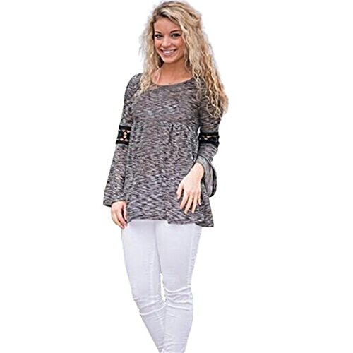 Casual-Women-Shirts-Plus-Size-Crop-Top-Blouse-Long-Sleeve-T-Shirt-Clearance