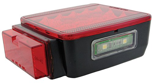 Kaper II L15-0077L Red Trailer LED Stop//Turn//Tail Light