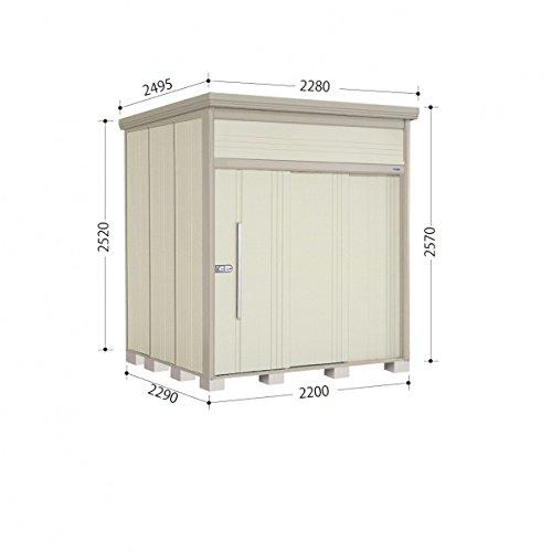 タクボ物置 JN/トールマン JN-2222 一般型 標準屋根 『屋外用中型大型物置』 ムーンホワイト B00ADLALJG