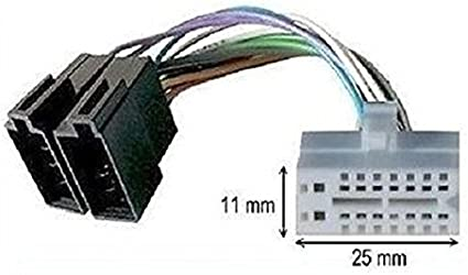 Iso Adapterkabel Für Autoradio Clarion 16 Pin Auto