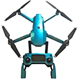 PeleusTech® Fluorescence Stickers Full Set for DJI Mavic Pro Drone Skins Decals Remote Controller Waterproof Stickers - (Hawaii Blue)