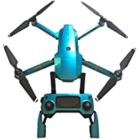 PINCHUANGHUI Cool Sticker Kit - Includes Drone Skin, Controller Skin and 3 Battery Skins.- Hawaii Blue
