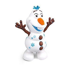 LINKDOO Electric Dancing Music Snowman Toy,electric Singing Dancing Snowman Olaf Robot Toy With Music Led Flashing…