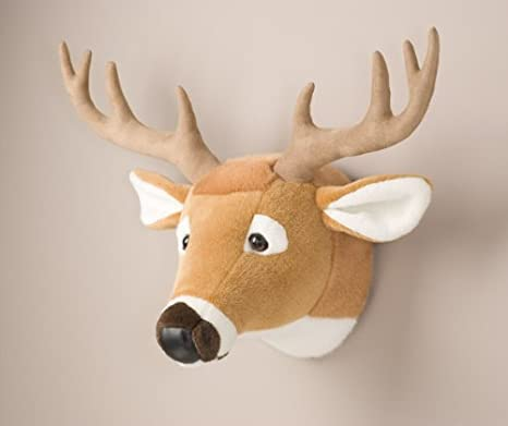 Deer Head Stuffed Animal Wall Mount Hunter Nursery Amazon Co Uk