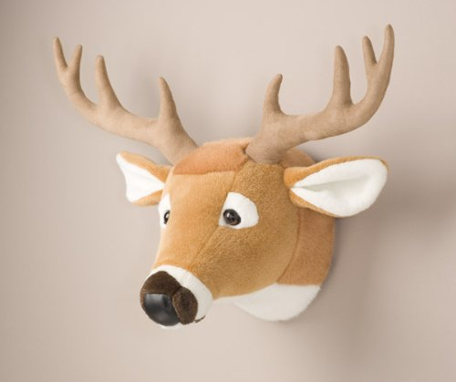 Deer Head Stuffed Animal Wall Mount Hunter Nursery