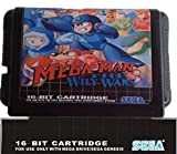 Value-Smart-Toys - Rockman Mega World + MegaMan The Wily Wars - 16 bit MD Games Cartridge For MegaDrive Genesis console