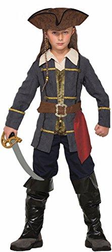 Forum Novelties Kids Captain Cutlass Costume, Multicolor, Small (Jack And The Neverland Pirate Costume)
