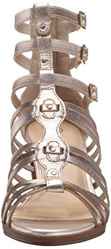 Bella Vita Layne gladiador sandalias de la mujer Champán