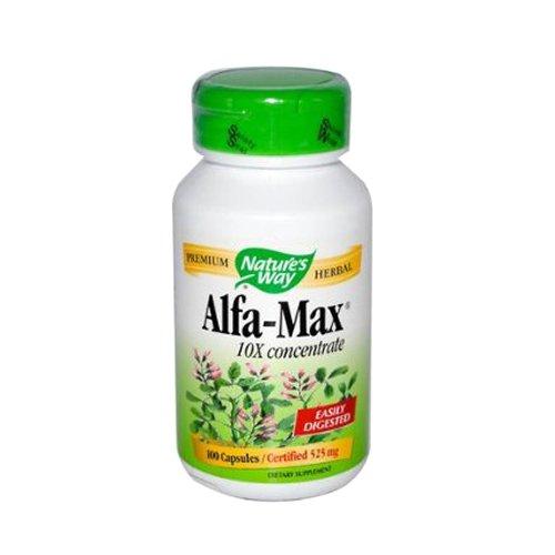 Way Alfa-Max 10X les capsules de concentrés de la nature, 100 Count