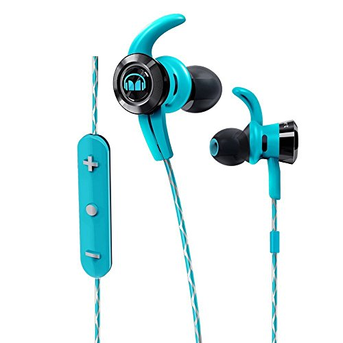 Click to buy Monster iSport Victory In-Ear Bluetooth Sport Headphones with In-Line Remote and Microphone in Blue, Running, Gymfriendly Sweatproof - From only $99