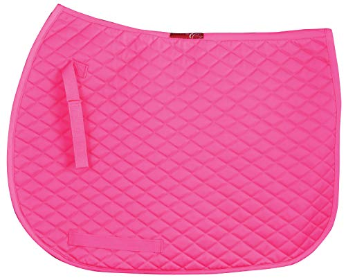 (Guts & Glory Leather Uniquely English Prism All Purpose Saddle Pad for Horses)
