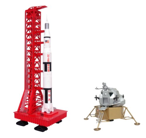 (Aoshima Apollo Saturn Rocket And Lunar Module Model Kit)