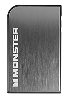 MONZ9 MBL PCARD TBO GY WW Monster Mobile Power Card Turbo Portable Battery, Space Grey