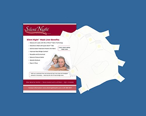 Silent Night CPAP Mask Liners (Full Face Large)