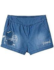 Desigual Girl Short Trousers (Denim_buendia) Pantalones Cortos para Niñas
