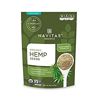 Navitas Organics Hemp Seeds, 8 oz. Bag - Organic, Non-GMO, Low Temp-Hulled, Gluten-Free (B06XGBQ4LJ) | Amazon price tracker / tracking, Amazon price history charts, Amazon price watches, Amazon price drop alerts