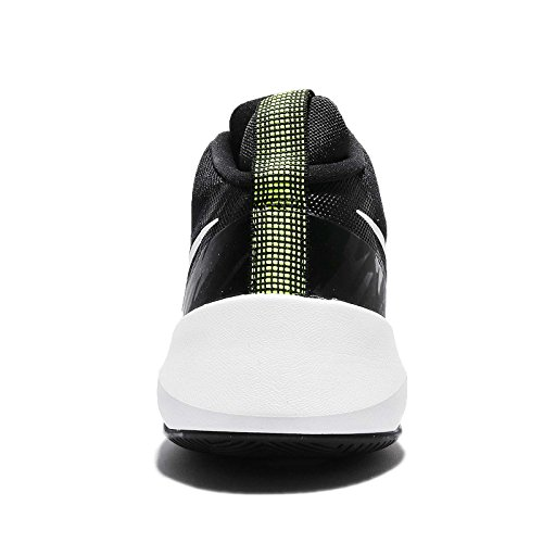 Nike Mænds Luft Alsidig Basketball Sko Sort / Hvid-volt IMWHB