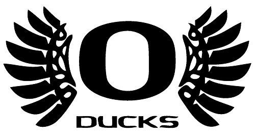 TDT Printing & Custom Decals Oregon Ducks Vinyl Decal Sticker for Car or Truck Windows, Laptops etc.
