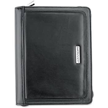 image about Day Runner Binder named AT-A-Glimpse Working day Runner Working day Planner, Windsor QuickView, Refillable, Black (101-0299)