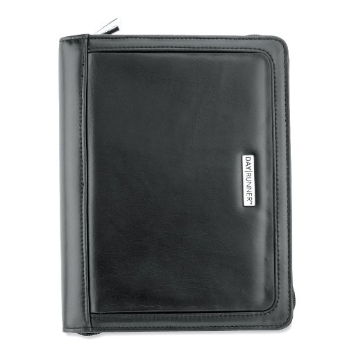 (AT-A-GLANCE Day Runner Day Planner, Windsor QuickView, Refillable, Black (101-0299))