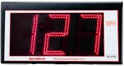 (Sports Radar 3 Digit Red Led 4'')