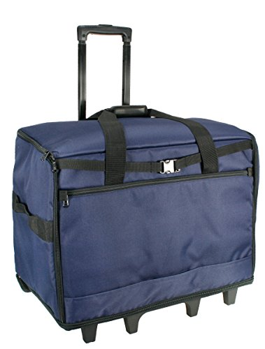Birch 006107-NAVY | XL Sewing Machine Trolley Bag | 63x43x30cm by Birch