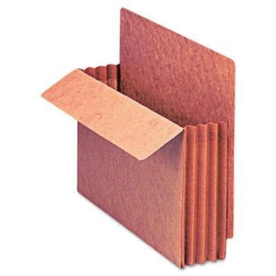 Pendaflex - Heavy-Duty End Tab 3 1/2'' Exp. File Pocket Straight Cut Red Letter 10/Box ''Product Category: File Folders Portable & Storage Box Files/Folders''