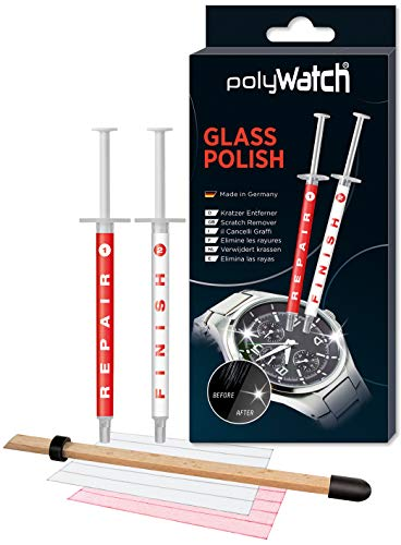 Polywatch Glass Polish All Kinds Of Glass Scratch Remover/Sapphire Scratch Remover / Repair Cell Phone Screens (Removal Screen Scratch)