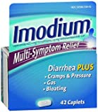 Imodium Multi-Symptom Relief - 42 Caplets, Pack of 6