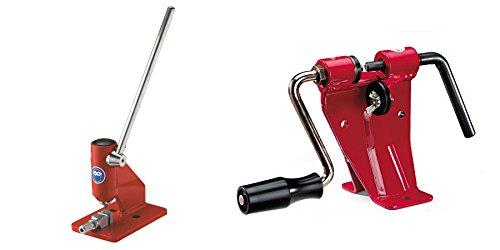 Laser 47003 & 47004 Bench Mount Chainsaw Chain Breaker & Rivet Spinner Tool Set by Laser