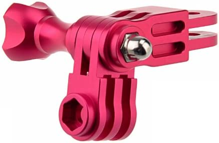 Color : Magenta Wyanlin Green Wyanlin Aluminum Mount Three-Way Pivot Arm Set for GoPro HERO4 // 3+ // 3//2 // 1