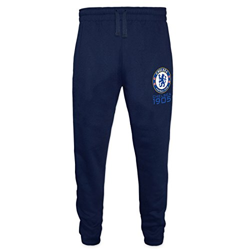 Chelsea Football Club Official Soccer Gift Mens Fleece Joggers Jog Pants – DiZiSports Store