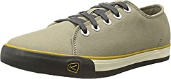 KEEN Men's Timmons Low Lace Canvas Casual Shoe, Brindle, 7.5 M US