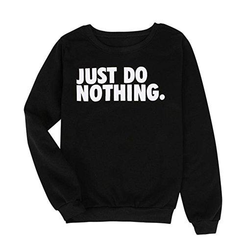 Top ClothingTalks Womens Crew Neck Sweatshirt Casual Jumper Tops Pullover supplier