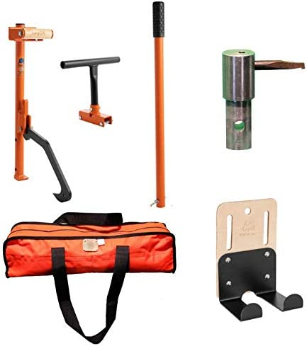 LogOX Forester Package 3-in-1 Forestry Multitool, Hauler Holster, PickOX Pickaroon Attachment, and CarryOX Bag