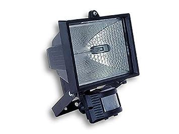 Gaestopas - Proyector 500w+lámpara con Sensor+Detector Negro ...
