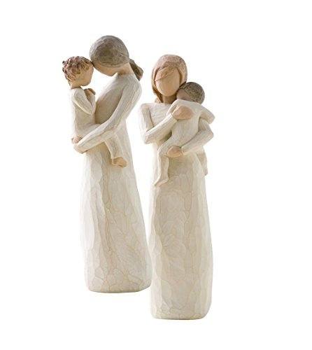 Tenderness Heart - Willow Tree Child of my Heart and Tenderness Figurines by Susan Lordi