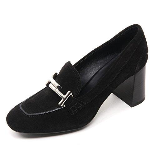 Tod's doppia Maxi Nero Shoe Donna Decollete T70 Scarpa Nero T B7648 Woman 4YrZq4H