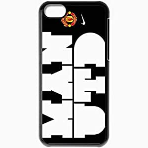 Personalized iPhone 5C Cell phone Case/Cover Skin Manutdnike Ryan Giggs Wayne Rooney Manchester United Football Black
