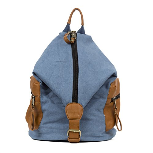 Handbag Republic Latest Womens Designer Large Backpack Style Jean Fabric Bag For Travel Ladies Men School