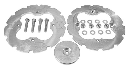 - Hess Motorsports 101001 Dual Sprocket Guard with Teeth