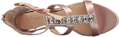 Badgley Mischka Jewel Womens Henderson Dress Sandalo Champagne