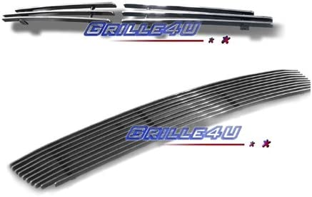 Compatible with 2003-2004 Honda Accord Sedan Billet Grille Combo H67956A