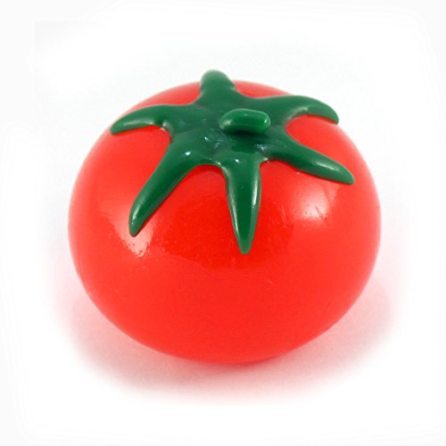 Generic Red Tomato Stress Relief Splatter Water Toy