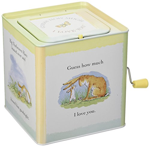 """41PSosTRPTL - Guess How Much I Love You Nutbrown Hare Jack-in-the-Box, 5.5"""""""