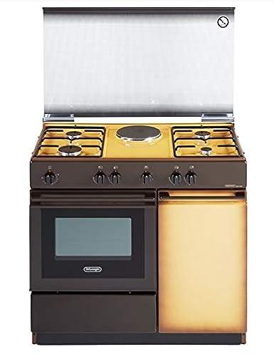 De Longhi SEK 8541 N ED - Cocina de gas con horno eléctrico (90 x ...