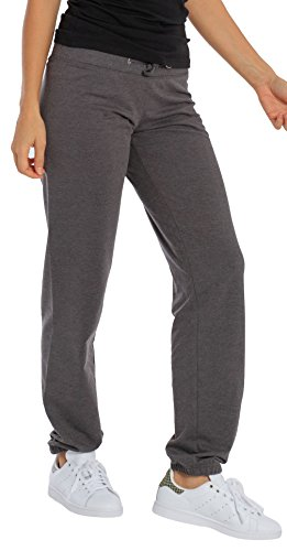 Midweight Sweatpants (Women's Midweight Relaxed Fit Joggers Sweatpants Charcoal X-Large)